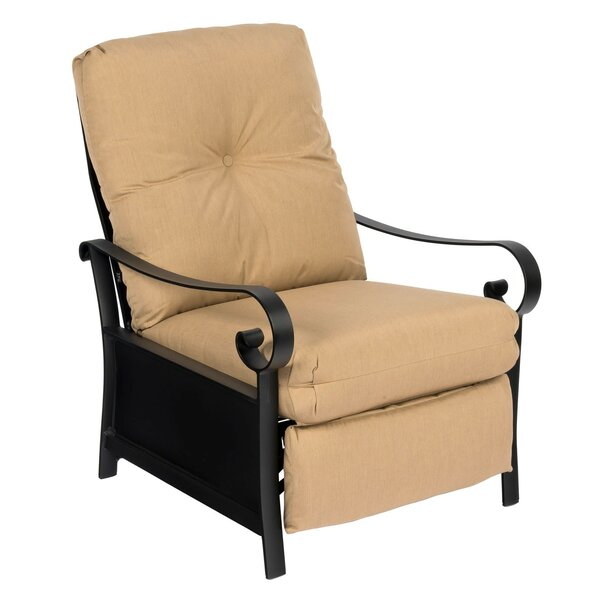 Belden Patio Chair with Cushions by Woodard