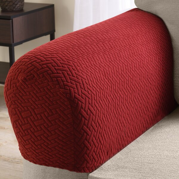 Box Cushion Armchair Slipcover by Ebern Designs
