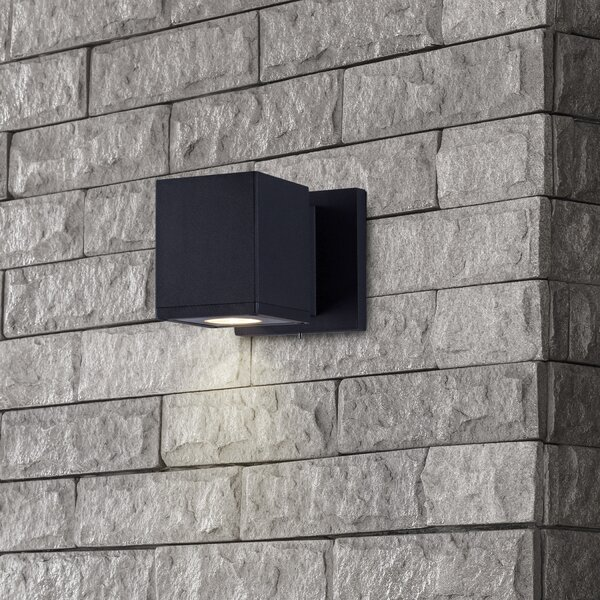 Wetumka Modern LED Outdoor Sconce by Ivy Bronx