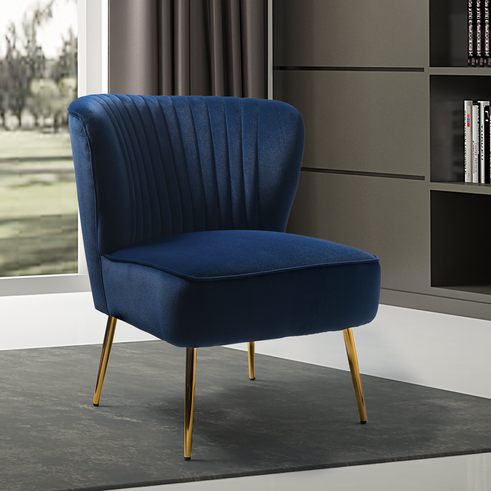 Picture of: Blue Accent Chairs You Ll Love In 2020 Wayfair