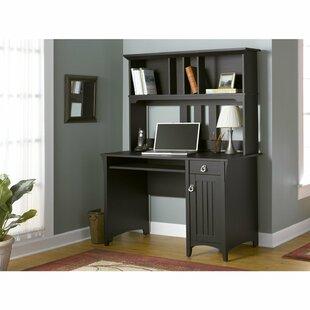 Ottman Computer Desk with Hutch By Lark Manor