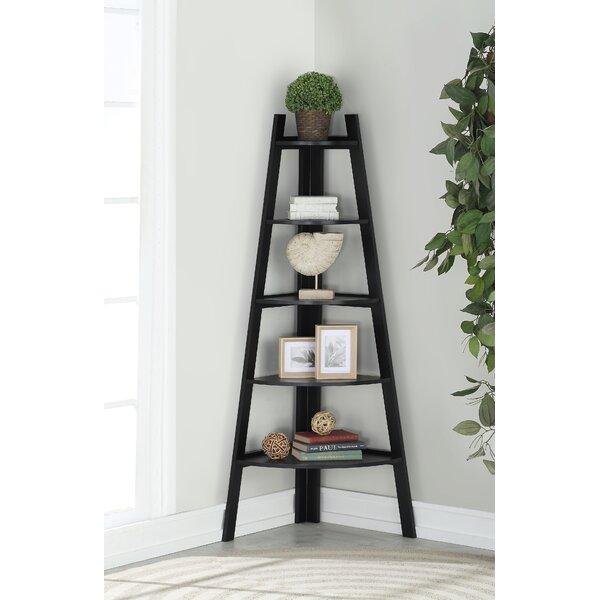 Galaviz Wood Corner Unit Bookcase by Ebern Designs