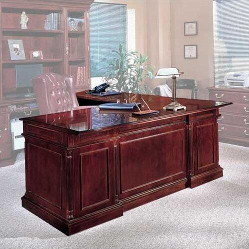 Flannagan L-Shape Left Return Executive Desk by Three Posts