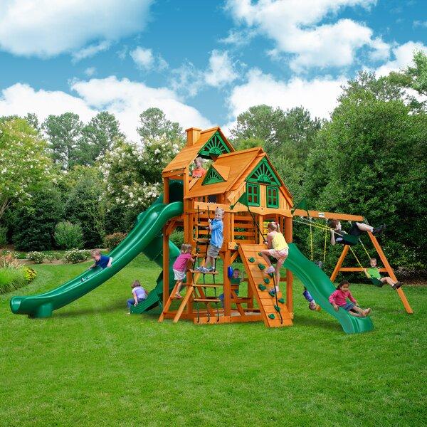 Great Skye II Treehouse Swing Set by Gorilla Playsets