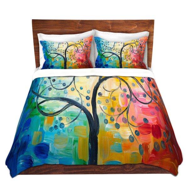 Color Tree II Duvet Cover Set