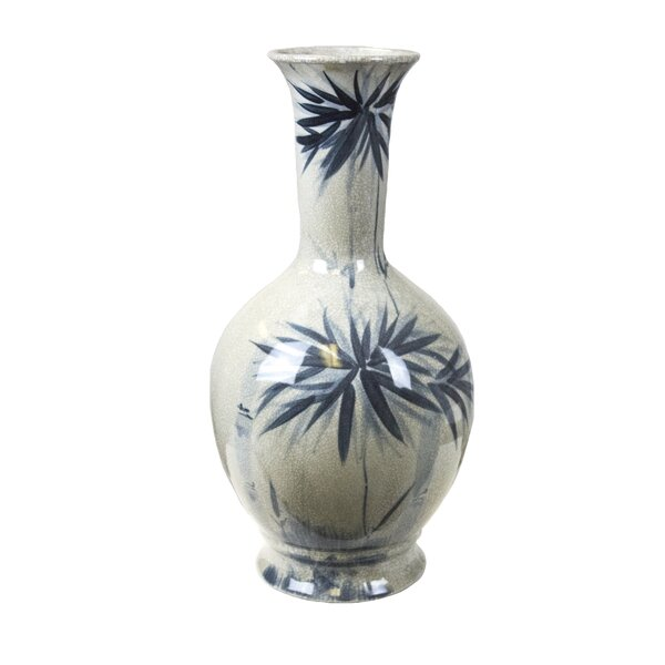 Bamboo Burst Table Vase by Bay Isle Home