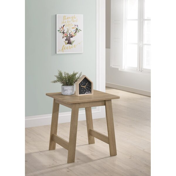 Gadson End Table By August Grove New