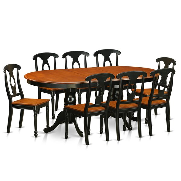 Pilcher Modern 9 Piece Dining Set by August Grove