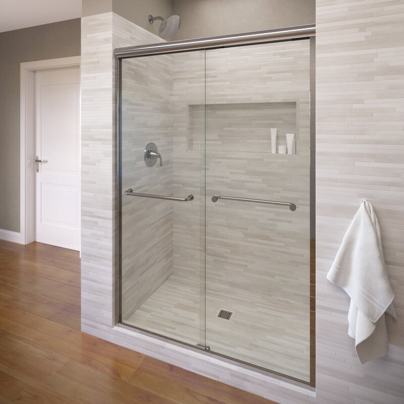 Infinity 40 X 70 Frameless Byp Sliding Shower Door