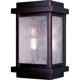 Reviews Gebremariam 2-Light Outdoor Flush Mount By Longshore Tides