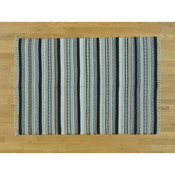 One-of-a-Kind Bessey Reversible Handmade Kilim Wool Area Rug by Isabelline