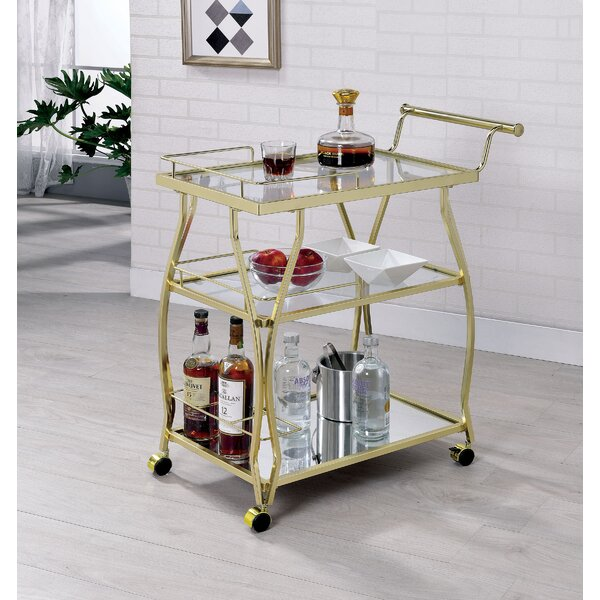 Dalary Bar Cart by Orren Ellis Orren Ellis