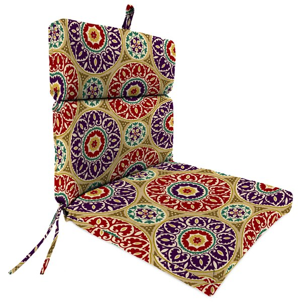Universal Indoor/Outdoor Adirondack Chair Cushion by Jordan Manufacturing