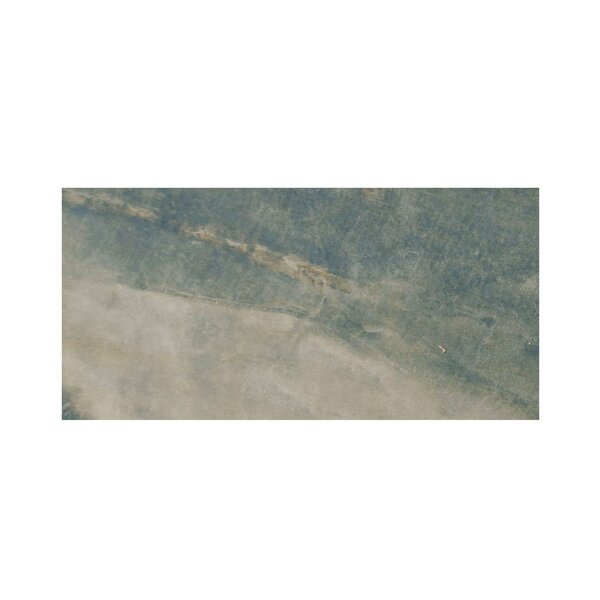 Pearl 3 x 6 Porcelain Field Tile in Forest by Casa Classica