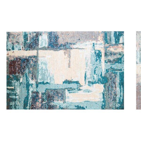 Phares Blue/Cream Area Rug by Latitude Run