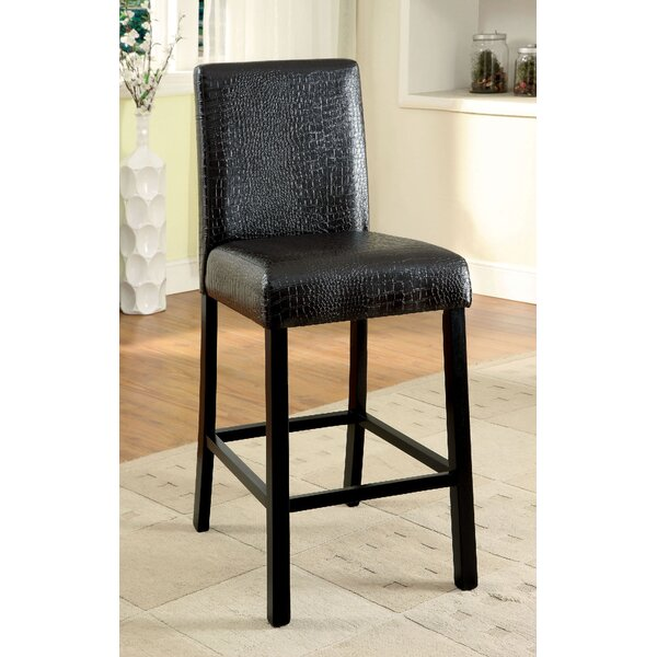 Dorey Counter Height Upholstered Dining Chair (Set of 2) by Ivy Bronx