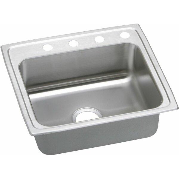 Pacemaker 22 L x 19.5 W Single Kitchen Sink by Elkay
