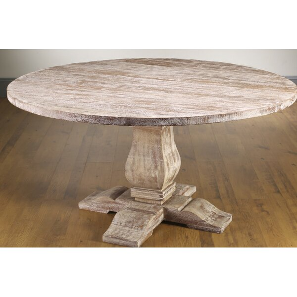 Jenifer Solid Wood Dining Table by Ophelia & Co.