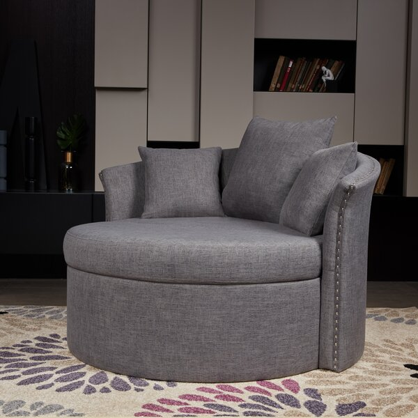 Jeanne 43 inch Barrel Chair by Willa Arlo Interiors