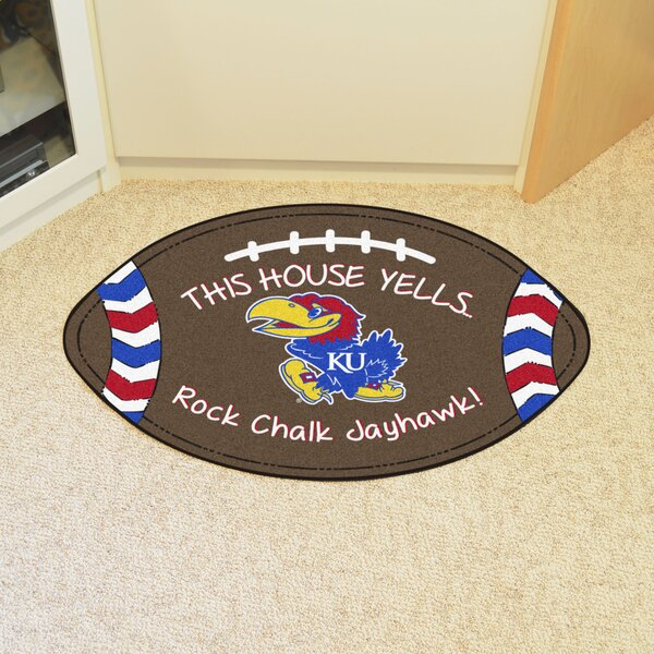 NCAA Kansas Southern Football Doormat by FANMATS