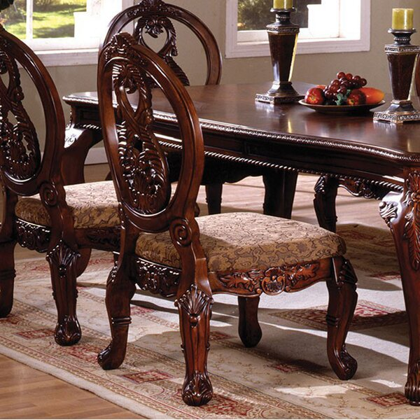 Baschey Solid Wood Dining Chair (Set of 2) by Astoria Grand