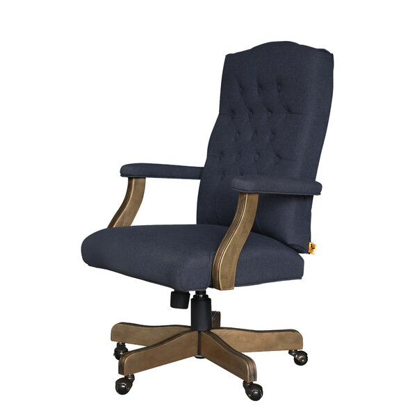 Wurthing High-Back Executive Chair by Three Posts