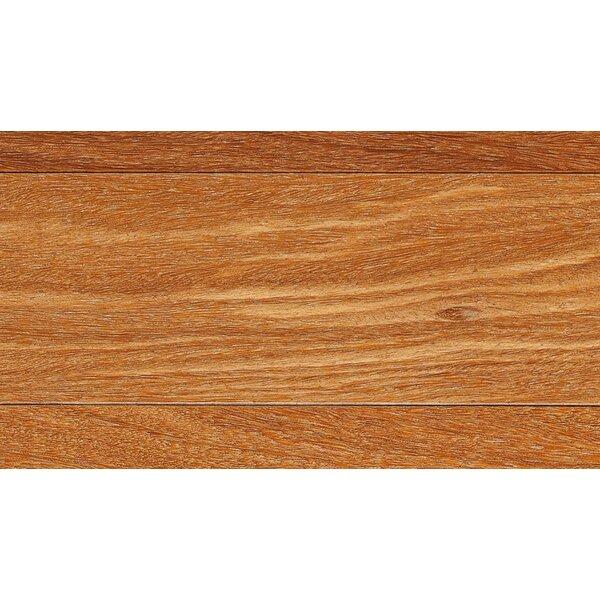 3-1/4 Engineered Teak Hardwood Flooring in Red by IndusParquet