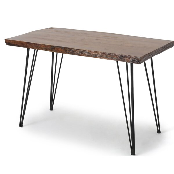 Strope Industrial Dining Table by Wrought Studio