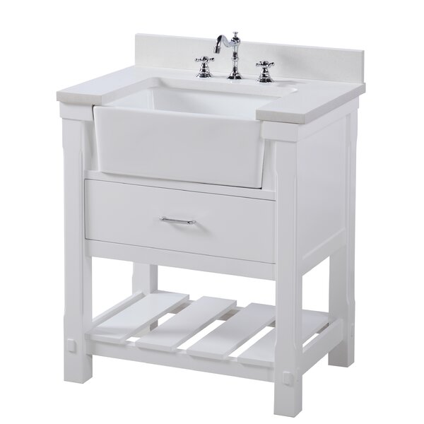 Charlotte 30 Single Bathroom Vanity Set by Kitchen Bath Collection