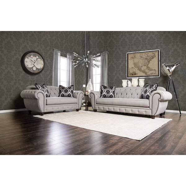Londono 2 Piece Living Room Set by Rosdorf Park