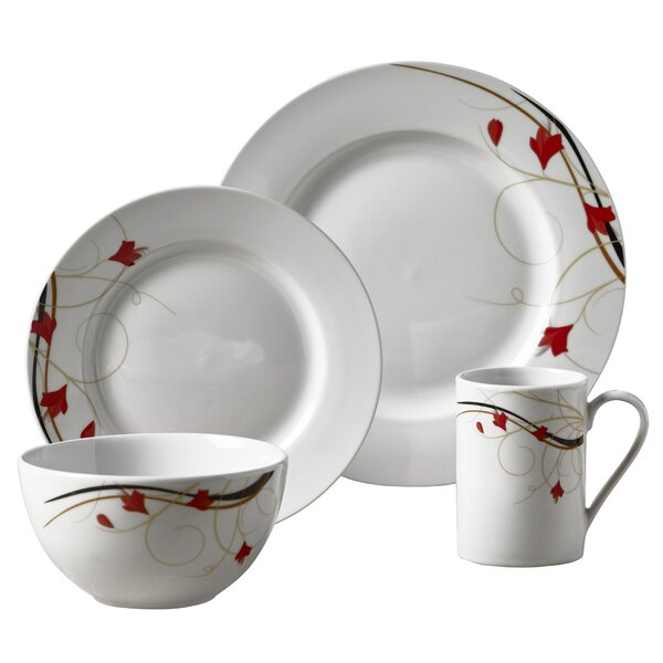 Adelbert 16 Piece Dinnerware Set, Service for 4 by Winston Porter