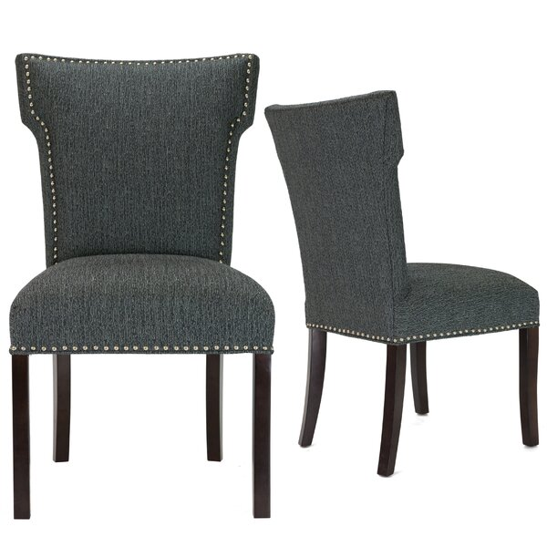 Kober Upholstered Dining Chair (Set of 2) by Alcott Hill