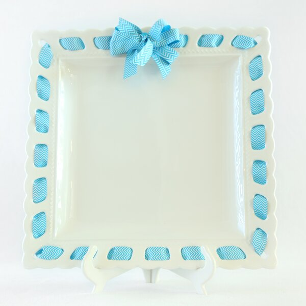 Square Serving Platter by Prissy Plates