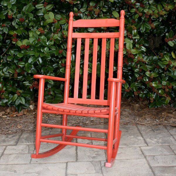 Sylvester Rocking Chair By August Grove®