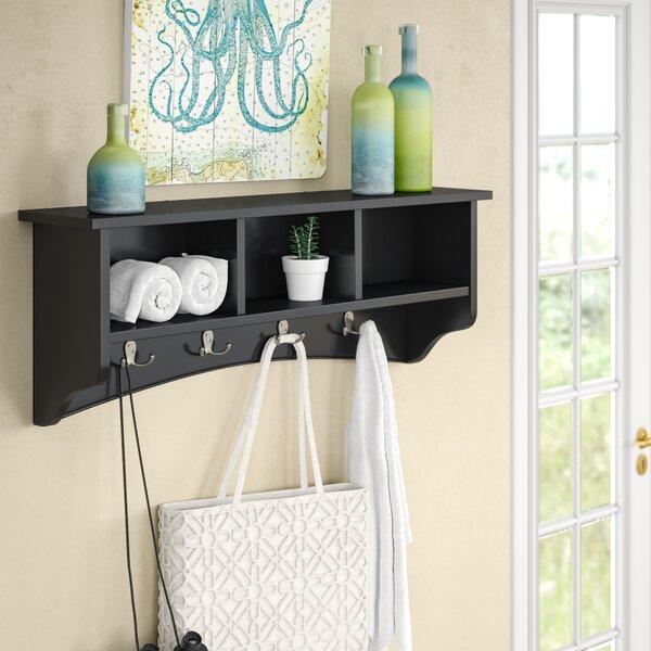 Bel Air 8 Hook Storage Shelf by Alcott Hill