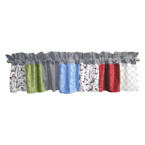 Dr Seuss Cat In The Hat 82 Curtain Valance By Trend Lab.