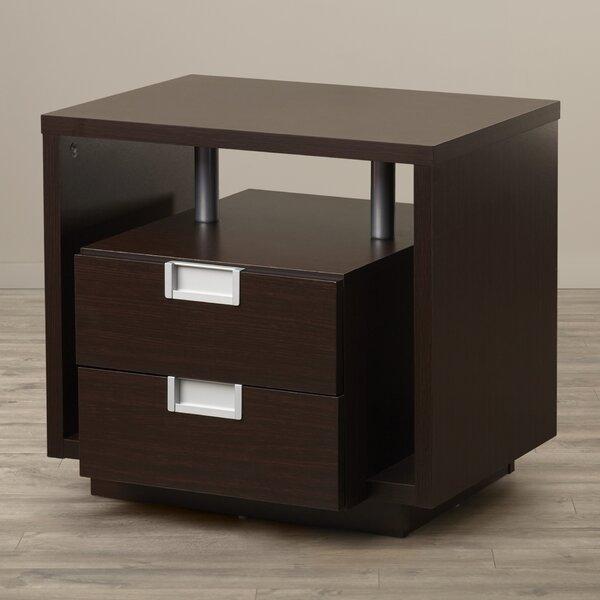 Collaroy End Table with Storage by Latitude Run Latitude Run