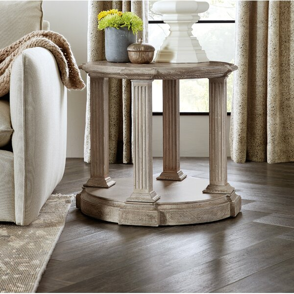 Dahlia Round End Table By Hooker Furniture