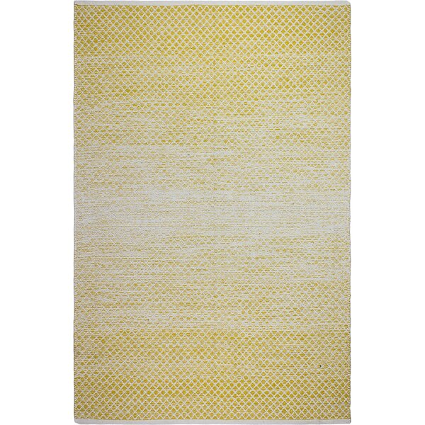 Estate Hand-Woven Gold Indoor Indoor/Outdoor Area Rug by Fab Habitat