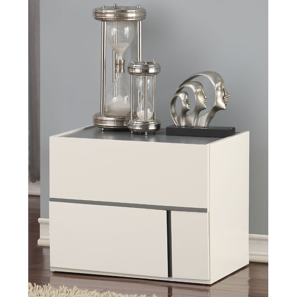 Usry 2 Drawer Nightstand by Orren Ellis