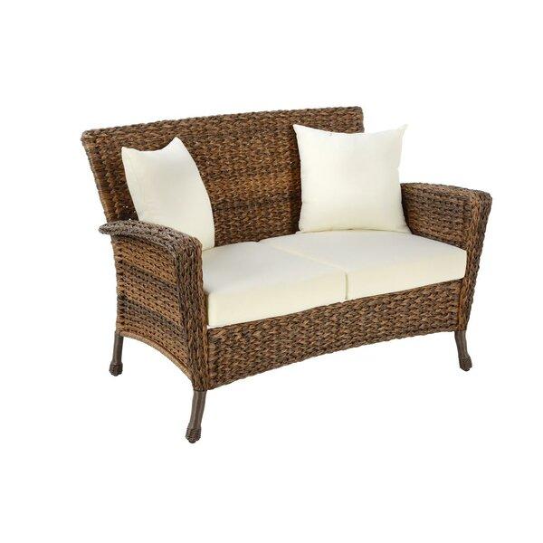 Kohut Patio Loveseat with Cushion by Bayou Breeze Bayou Breeze