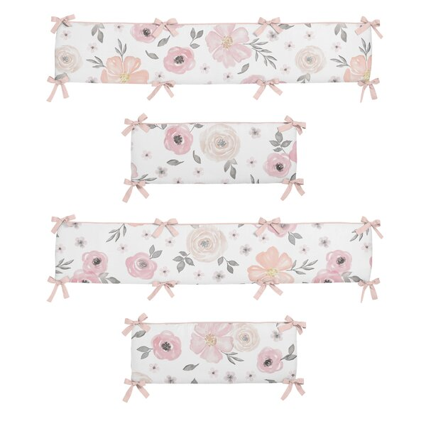 Floral Crib Bumper by Sweet Jojo Designs