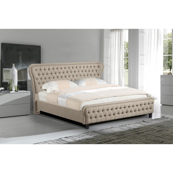 Nobhill Eastern King Upholstered Platform Bed by Rosdorf Park
