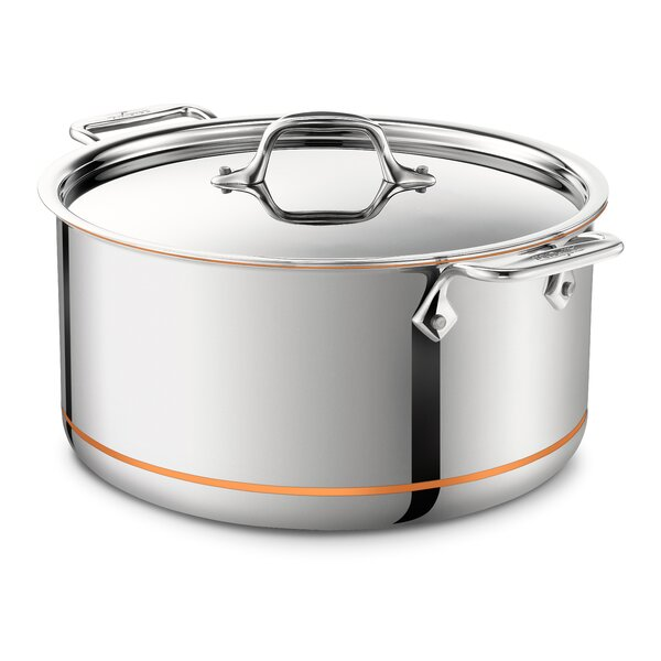 Copper Core Stock Pot with Lid by All-Clad