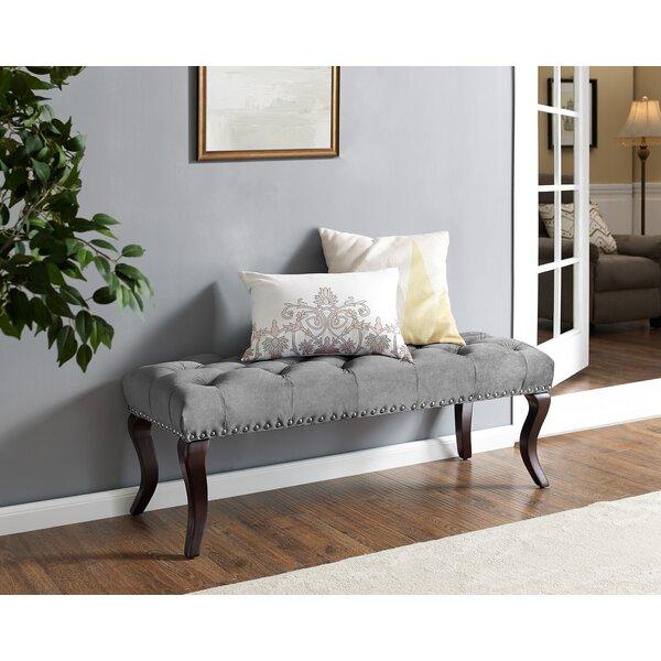 Madiun Upholstered Bench by Charlton Home