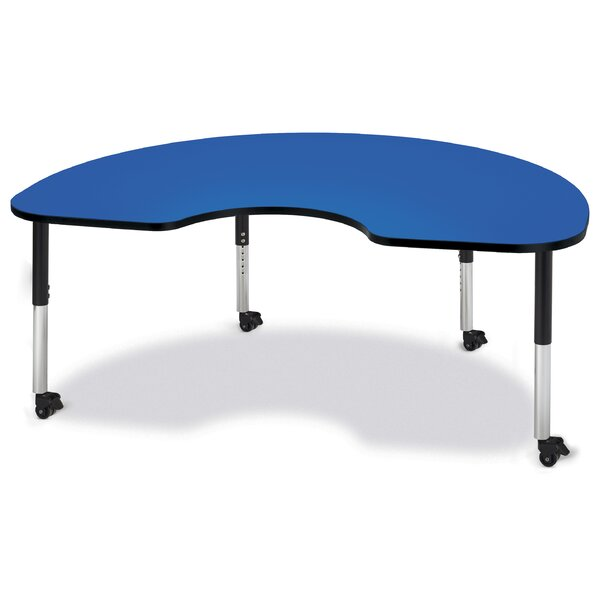 Berries® 72 x 48 Kidney Activity Table by Jonti-Craft