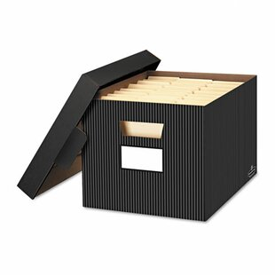 Store/File Decorative Storage Box (Set of 4)  sc 1 st  Wayfair & Decorative File Storage | Wayfair