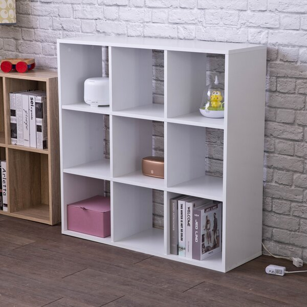 Review Exton Cube Bookcase