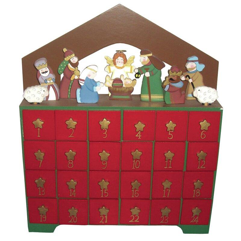 The Holiday Aisle Nativity Advent Calendar Reviews Wayfair