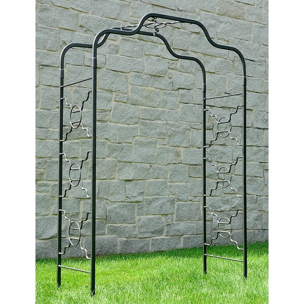 Bows and Circles Iron Arbor by ACHLA
